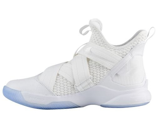 Nike hombre LeBron Soldier XII blanco SFG nuevo autentico ao4054-101 blanco XII blanco / blanco a0469e