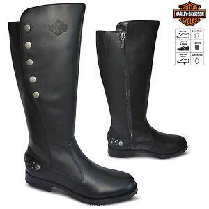 Cool NEW Harley-Davidson Womens Riding Boots D87067 Size 6 Medium   EBay