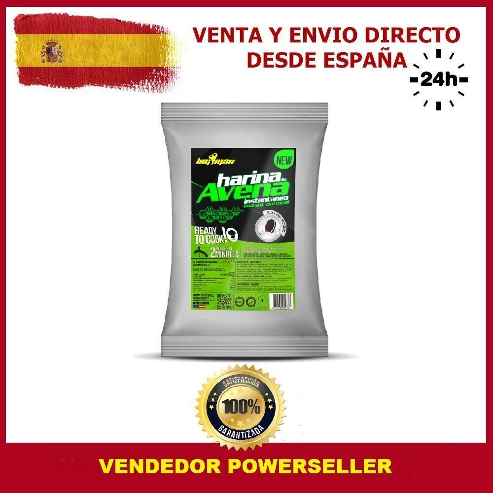 HARINA DE AVENA 1 Kg CHOCOLATE sabor CHOCOLATE Kg BLANCO - CARBOHIDRATOS SANOS - BIGMAN a30b44