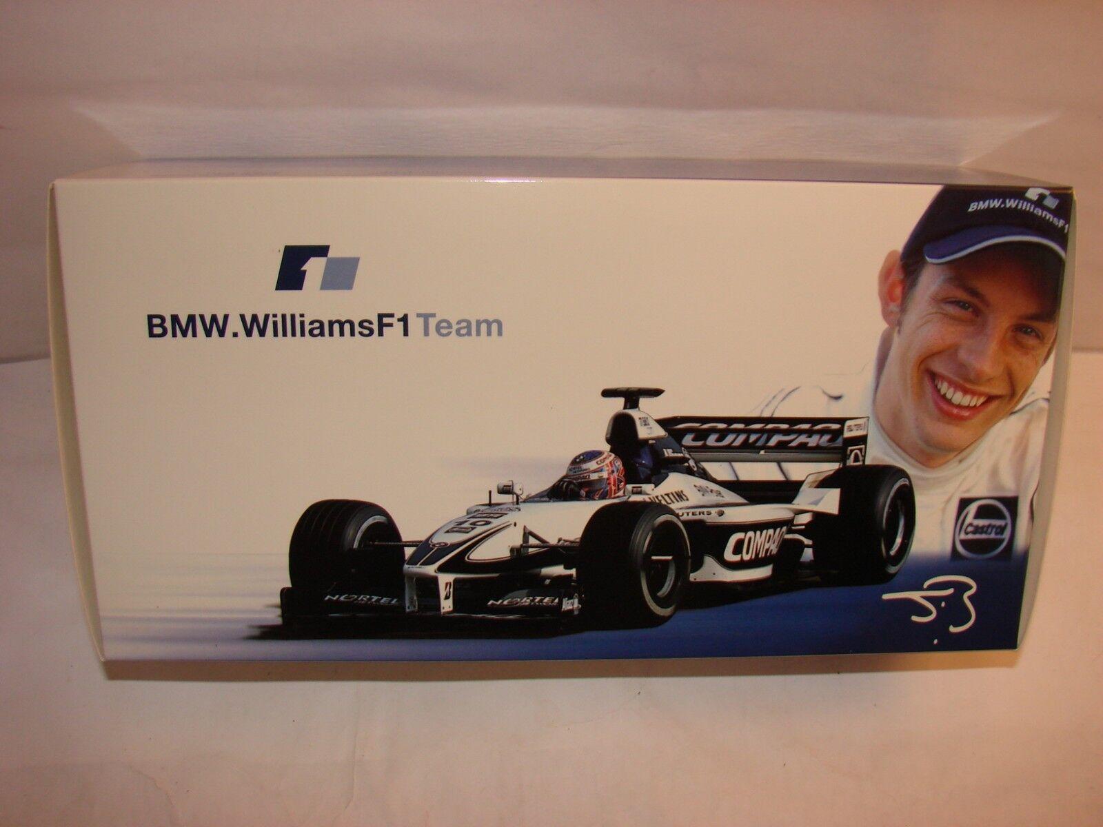1/18 1/18 1/18 Williams BMW fw22, alliance, Jenson Button, MINICHAMPS dans neuf dans sa boîte | 2019  e2a40f