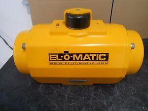 Details about EL-O-MATIC ES0600 U1A04A 27K0 PNEUMATIC RACK & PINION ACTUATOR