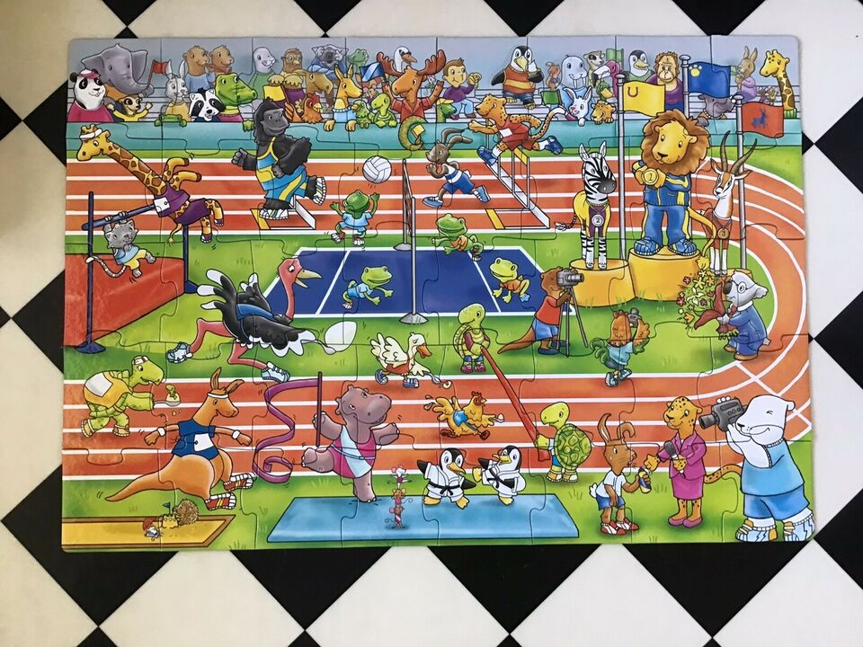 The animals games , Gulv puslespil , puslespil