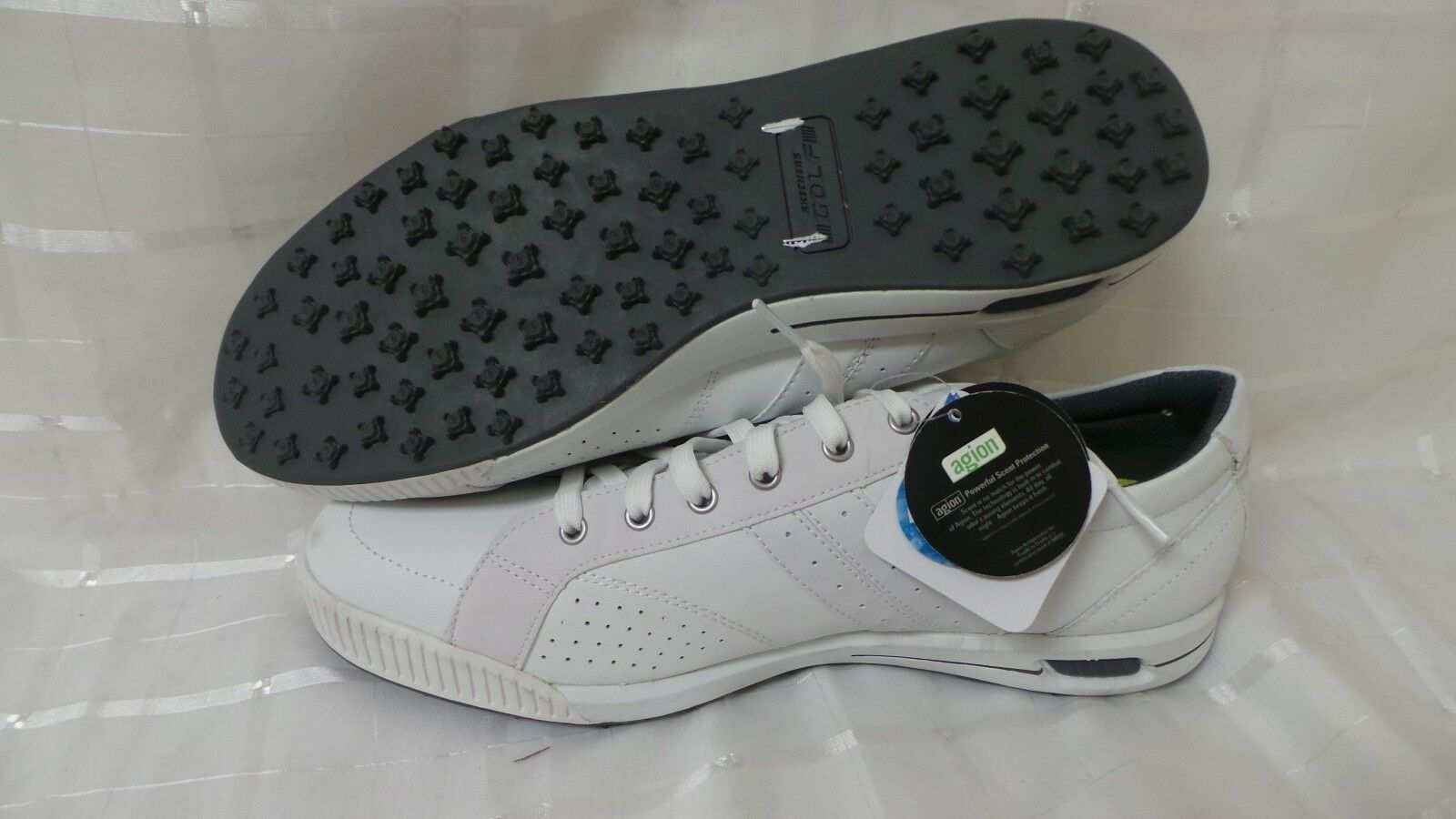 New! Mens  SKECHERS GO GOLF - DRIVE Shoes 53523 White Comfortable Casual wild