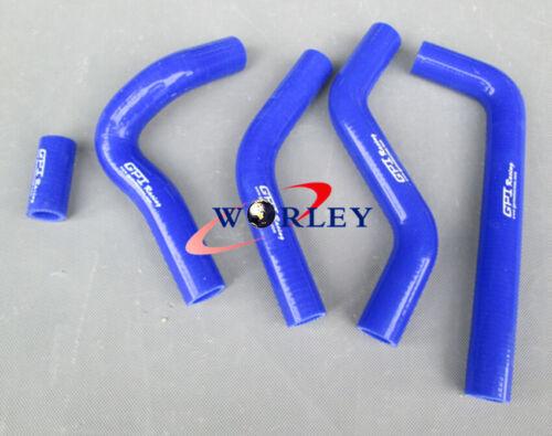 For Suzuki RMZ450 06 RMZ 450 2006 silicone radiator hose kit YELLOW