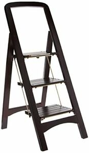 Wood Steps Stools Scaling Ladder Large Platform Climb