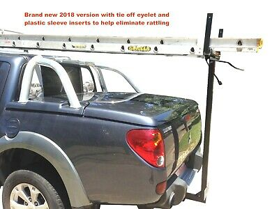 Mitsubishi Triton Ladder Rack Roof Rack Hard Lid Rack With Bonus Anti Rattle Ebay