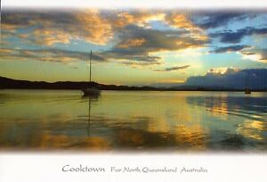 D8495cgt-Australia-Q-Cooktown-Endeavour-River-Sunset-MV-postcard