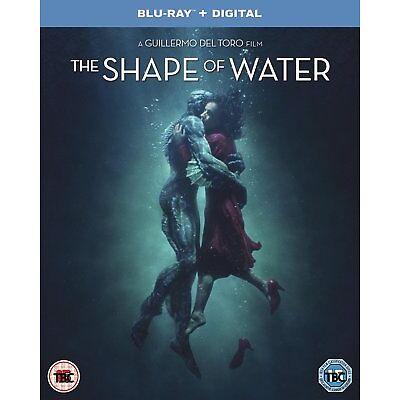The Shape of Water [Blu-ray + Digital HD] [2018]