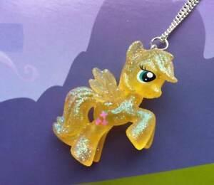 Kitsch my little pony fluttershy glitter retro 80s 3d toy necklace la imagen se est cargando mi pequeno pony fluttershy brillo kitsch retro 80s aloadofball Gallery