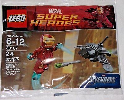 Lego Marvel Avengers Iron Man y Dum-e 30452 Bolsa De Polietileno BNIP