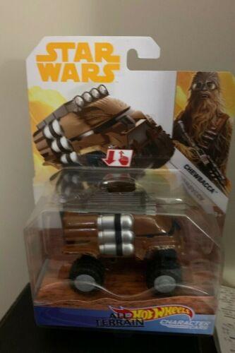 Star Wars All-Terrain Die-cast Hot Wheels Character Cars Chewbacca