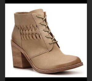 Modern Vintage tan leather ankle boots size 36.5