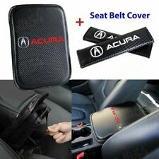 Car Center Console Armrest Cushion Mat Pad Cover Combo Set For Acura Brand New Fits 1991 Honda Civic