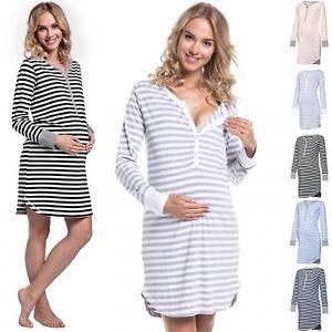 f12c46054fe Image is loading Happy-Mama-Women-039-s-Maternity-Hospital-Nightdress-