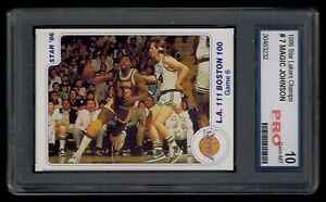1986-Star-Lakers-Champs-MAGIC-JOHNSON-card-7-PRO-graded-10