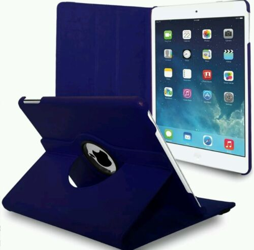"""2017 LEATHER 360 DEGREE ROTATING CASE COVER FOR I PAD 9.7/"""" IN VARIOUS COLORS"""