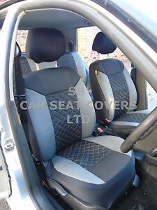 I-adapte-a-MAZDA-CX-3-voiture-S-Housses-gris-noir-point-set-complet