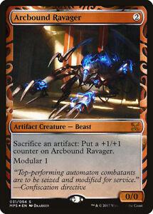 Devastateur-entravarc-PREMIUM-FOIL-Arcbound-Ravager-Invention-Magic-mtg