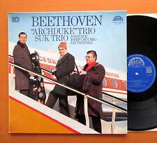 Beethoven Archduke Trio Suk Trio 1977 EXCELLENT Supraphon 4 11 2137 Stereo Quad