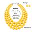 Women-Bohemian-Choker-Chunk-Crystal-Statement-Necklace-Wedding-Jewelry-Set thumbnail 142