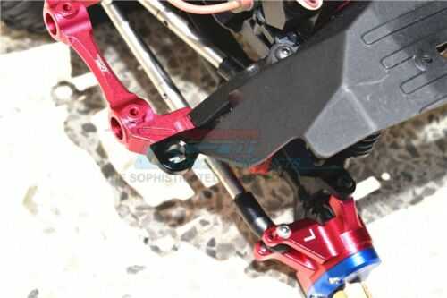 Axial SCX10 III Jeep JL Wrangler GPM Aluminum Front Body Post Mount Red