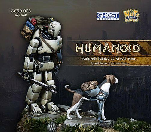 Nuts Planet GC90003 1 20 Humanoid with a Dog