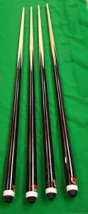 Stock-Clearance-2nds-Quality-4-x-48-034-inch-Pool-Billiards-or-Snooker-Table-Cues