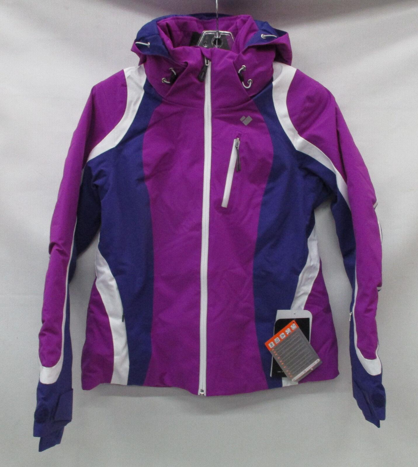 Obermeyer Para Mujer Chaqueta De Esquí Jette aislado 11092  púrpuraa Vibe Talla 6  A la venta con descuento del 70%.