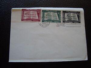 Vereinten-Nationen-New-York-Umschlag-1er-Tag-24-10-1955-B6-Vereinigte