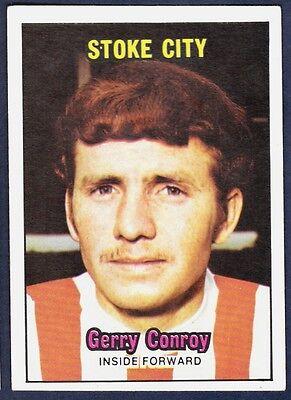 A /&BC 1970 ORANGE BACK #062-STOKE CITY-GERRY CONROY