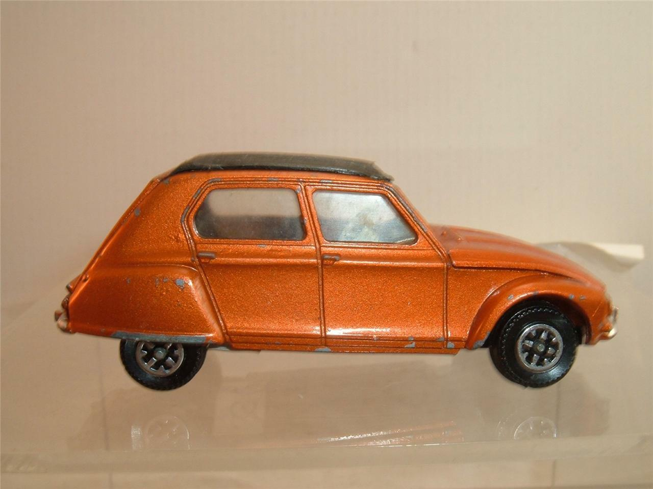 DINKY TOYS CITRONE DYANE IN NICE NICE NICE CLEAN ORIGINAL USED CONDITION SEE THE PHOTOS a9496b