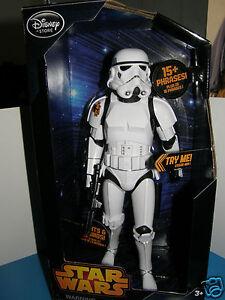 "Disney / Star wars Talking Strom trooper Disney 13"" inch light&sound action"