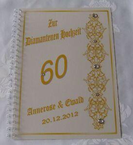Festzeitung-Diamanthochzeit-Diamantene-Hochzeit-Geschenk-Karte-60-Blumenranke