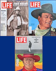 3-Life-Collection-of-1965-1969-1972-John-Wayne-The-Duke