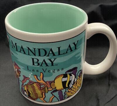 Mandalay Bay Las Vegas-cup//mug-Casino /& Hotel-design of white Croc//Alligator-NEW