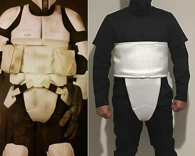 Star Wars - Biker Scout Trooper -  Cummerbund 2pcs - Costume Armor Prop Cosplay
