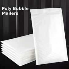 Poly Bubble Mailer Padded Envelope Shipping Bag Self Sealing All Size