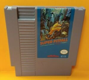 Super-Pitfall-Nintendo-NES-Game-Rare-Tested-Works-Great-Authentic