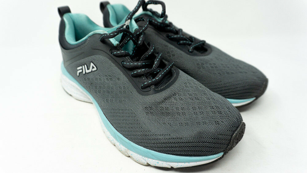 Fila Memory Outreach Running shoes, RM00110-06-8, Grey bluee, Womens US 7.5 Z21