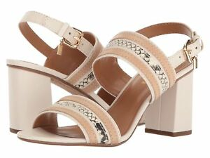 112f8651fe Image is loading COACH-Princeton-Block-Heel-Dress-Sandals-chalk-10M