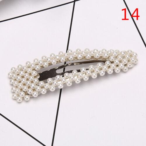 Fashion Women Hair Pearl Hair Clips Hair Hairpins Girl Headwear Accessories ZF