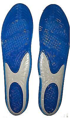 Insertos De Zapatos Plantillas Gel Deportes Ortopédico Arch Masaje Pies Almohadillas De Apoyo