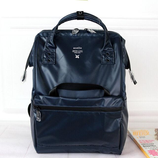 ANELLO Japan Unisex Handle Backpack Campus Rucksack Soft Porter Nylon School Bag
