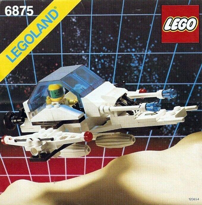 NEW Lego Space Futuron 6875 Hovercraft LEGOLAND Sealed