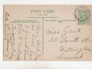 Miss Gail South Street Wellington Somerset 1907 497b - Aberystwyth, United Kingdom - Miss Gail South Street Wellington Somerset 1907 497b - Aberystwyth, United Kingdom