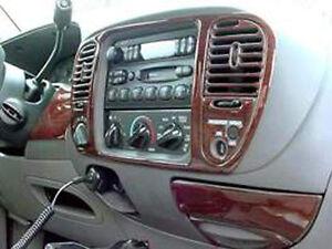 Ford F 150 F150 Regular Cab Super Crew Wood Dash Trim Kit Set 2001 01 2002 2003 Ebay