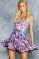 Black milk Mucha Amethyst vs Mucha Emerald Inside Out Dress IOD-MEDIUM