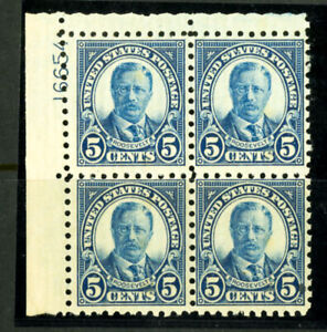 US-Stamps-586-5c-T-Roosevelt-F-VF-OG-NH-Scott-Value-425-00