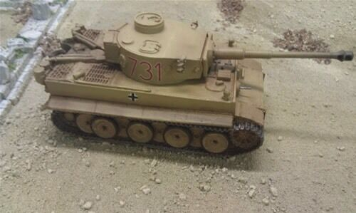 148 German Early Tiger. Beautiful Resin Model By Blitzkreig WWII Bolt Action,