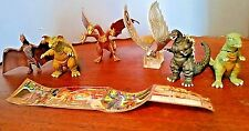 6 pc GODZILLA vs ULTRA MONTSTERS Gorozaurus, Baragon King, Ghidora, Mothra Rodan